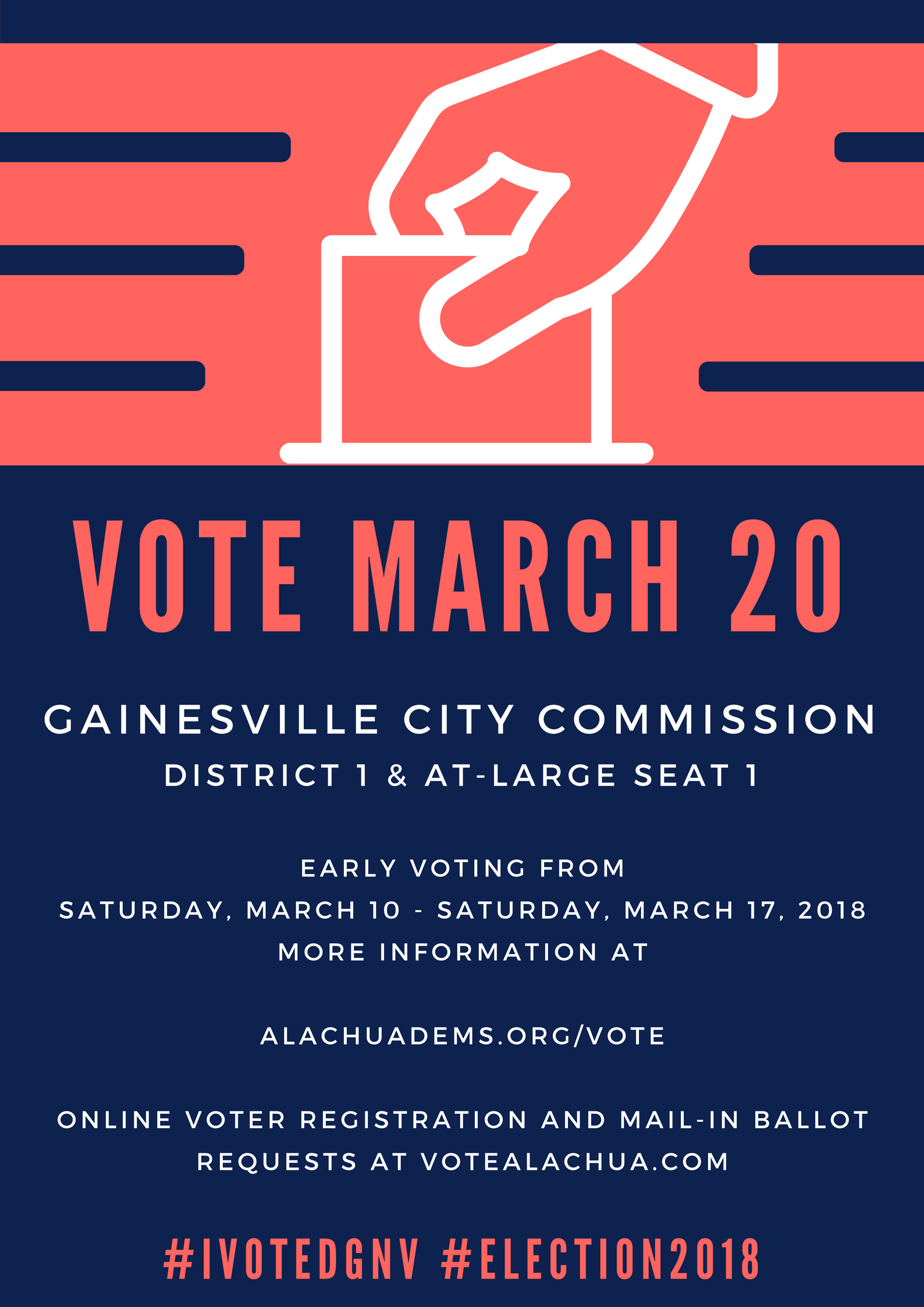 Gainesville City Election - Alachua County Democratic Party